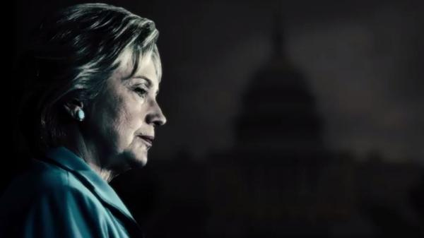 In a new ad, Donald Trump's campaign paints Hillary Clinton's America as bad for the economy.