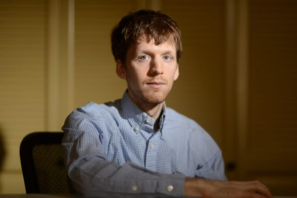 Alexander Rhodes, a former internet porn addict and founder of NoFap.com. (Courtesy Michael Ray)