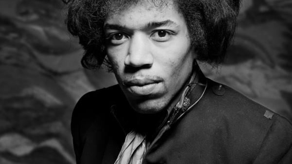 The newest collection of Jimi Hendrix material is titled <em>People, Hell and Angels</em>.