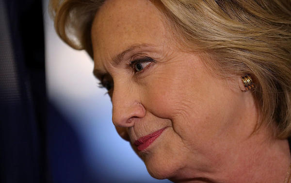 Democratic presidential nominee Hillary Clinton is on pace to outspend her GOP rival Donald Trump on the air in key battleground states by a 7-to-1 margin.