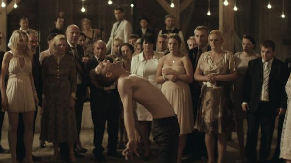 Evacuate the Dance Floor: Itay Tiran plays Piotr, a groom with something to get exorcised about, in <em>Demon</em>.