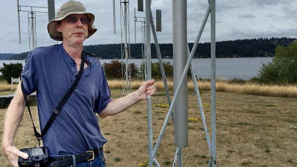 Rick Johnson visits a scenic shoreline in Seattle that's home to <em>A Sound Garden,</em> an outdoor sculpture. The area used to be a popular destination until access was restricted after Sept. 11.