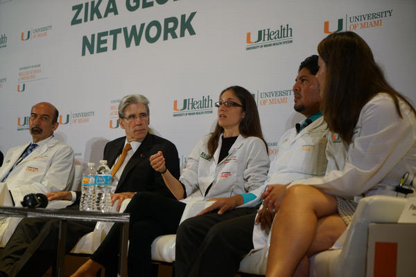 Thursday's panel of experts discussed a range of Zika topics, including the challenges of testing for the virus.