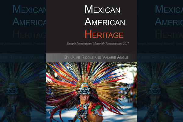 """Critics voice concern over this proposed Mexican-American heritage textbook. Some scholars on in the subject say that the textbook, <em>""""Mexican American Heritage,""""</em> is riddled with factual errors, is missing content and promotes racism and culturally offensive stereotypes."""