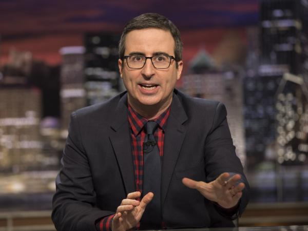 John Oliver, host of <em>Last Week Tonight</em>.