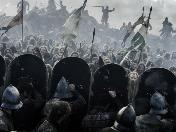 "From the <em>Game of Thrones</em> episode, ""The Battle of the Bastards."""