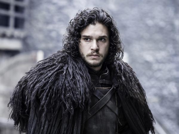 Kit Harington in <em>Game of Thrones</em>.
