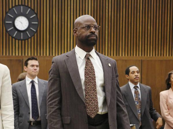 Sterling K. Brown in <em>The People v. OJ Simpson</em>.