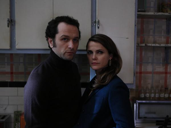 Matthew Rhys and Keri Russell in <em>The Americans</em>.
