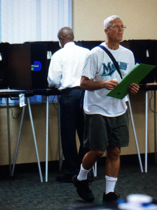 In a state of almost 12.5 million registered voters, who are the swing voters in Florida?