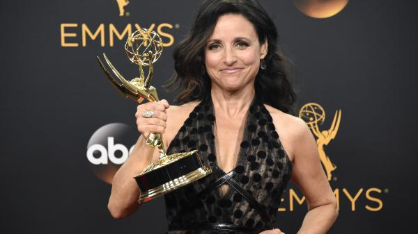 Julia Louis-Dreyfus won the Emmy for outstanding lead actress in a comedy series for <em>Veep</em>.