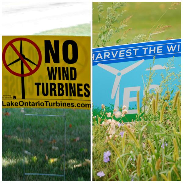 BY ANGELICA A. MORRISON/ Wind farm project sparks controversy  in Upstate New York.