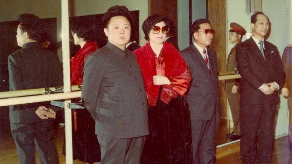 Not So Lonely Anymore: (L to R) Kim Jong Il, Choi Eun Hee and Shin Sang Ok in <em>The Lovers and the Despot</em>.