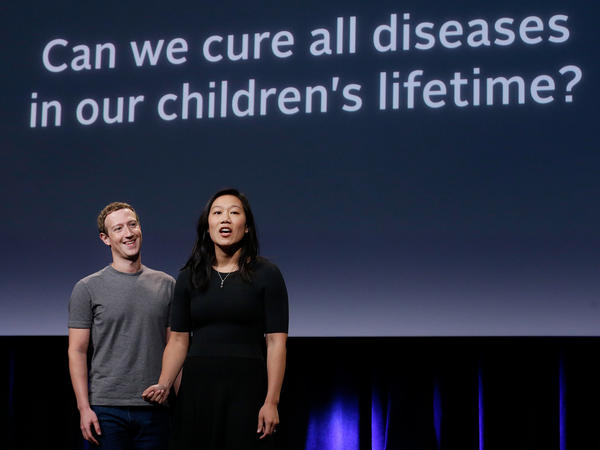 Facebook CEO Mark Zuckerberg and his wife, Dr. Priscilla Chan, have a new goal: cure, manage or eradicate all disease by the end of this century. And they're putting up $3 billion.