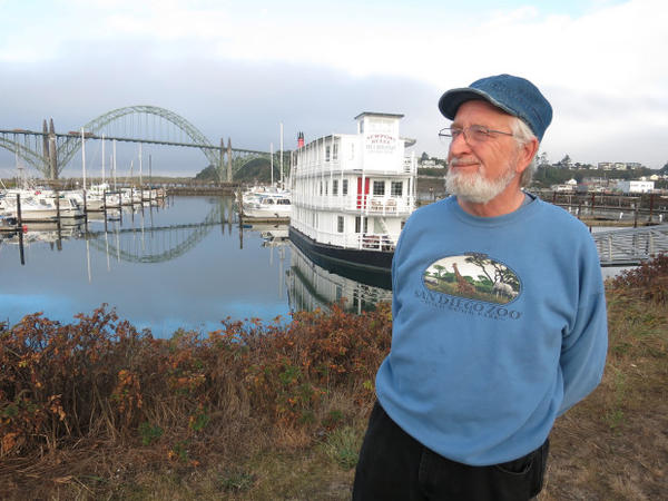 <p>Michael Wilkinson, the owner of the Newport Belle sternwheeler, says in a tsunami, the vessel could well be picked up and washed onto the Hatfield Marine Center.</p>