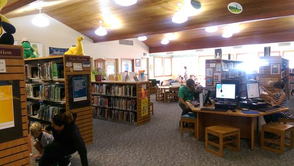 Douglas County Library in Roseburg.