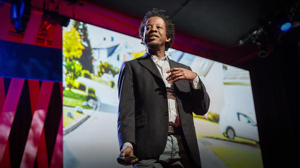 """Rich Benjamin talks about his time in """"Whitopia"""" at TEDWomen in 2015."""