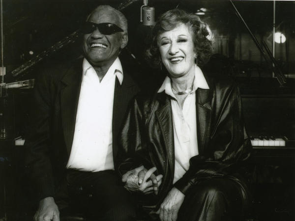 Ray Charles and Marian McPartland.