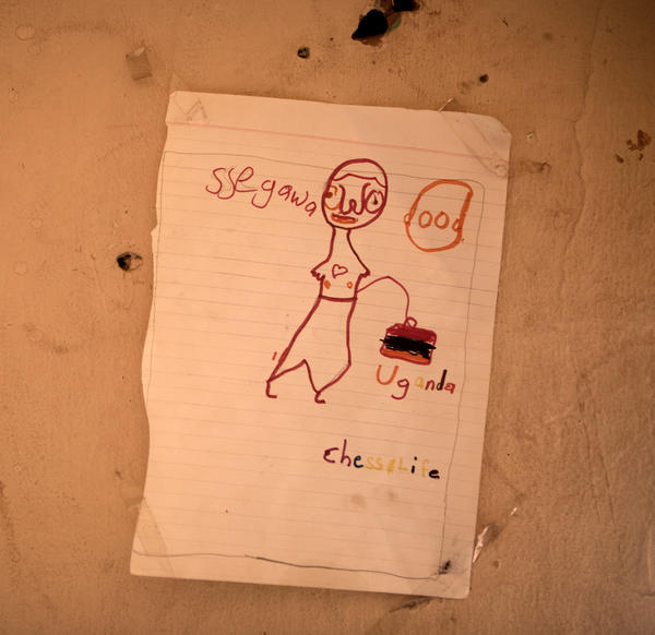 """""""Chess Life,"""" is a drawing by one of the children of the Chess Academy."""