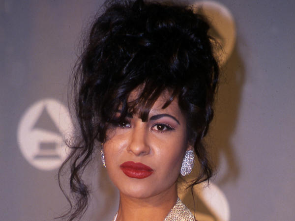 The late Grammy winning Tejano star Selena Quintanilla in 1994. More than 20 years after her death, Quintanilla looks are inspiring fans.
