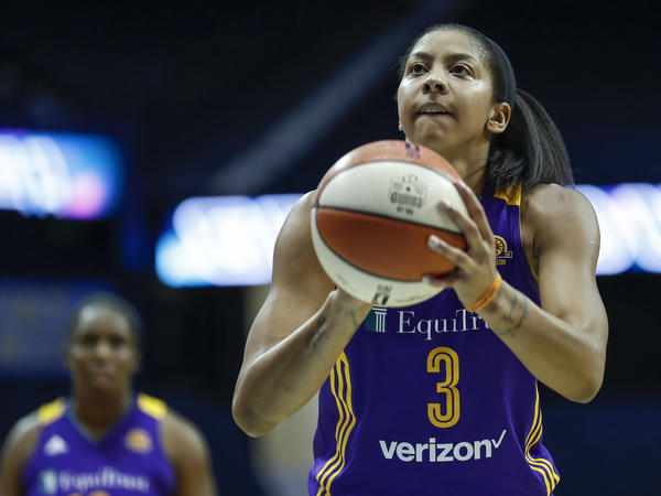 Los Angeles Sparks forward Candace Parker will help give her team a chance to win the WNBA basketball title.