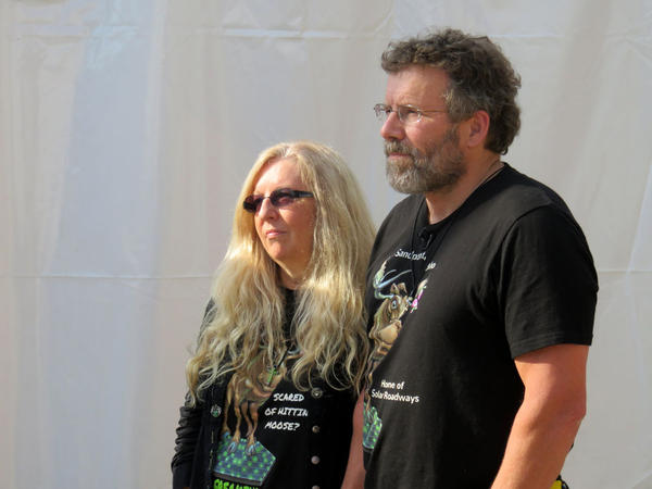 Solar Roadways co-owners Scott and Julie Brusaw.