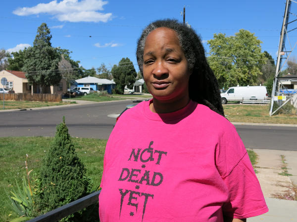 "Anita Cameron, a board member of the group ""Not Dead Yet,"" opposes Proposition 106."