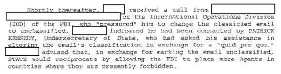 This comes from new investigative notes released by the FBI.