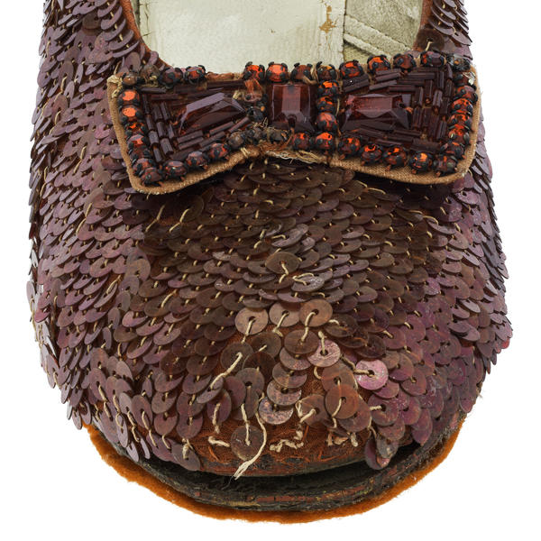 The museum wants to prevent any more deterioration of the shoes, which show clear signs of aging.
