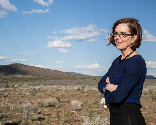 <p>Oregon Gov. Kate Brown took over after then Gov. John Kitzhaber resigned in February 2015.</p>