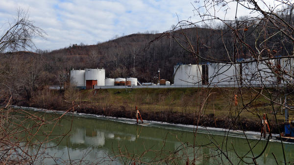Freedom Industries, which owned storage tanks blamed in a January 2014 chemical spill, filed for bankruptcy later that month. The company's facility on Barlow Street is seen on the banks of the Elk River in Charleston, W.Va.