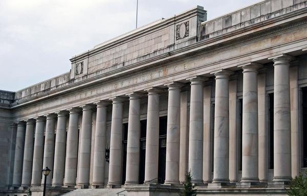 File photo of The Temple of Justice in Olympia, Washington.