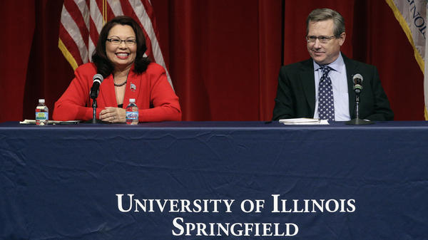Democratic Rep. Tammy Duckworth and GOP Sen. Mark Kirk faced off in their second Illinois Senate debate Thursday night.