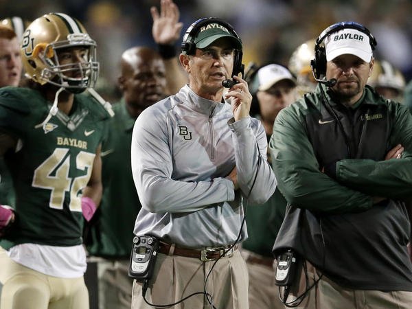 Former Baylor head football coach Art Briles on Oct. 19, 2013.