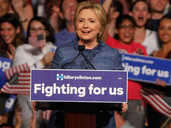Hillary Clinton held her primary night event on March 15, 2016 in West Palm Beach, Florida.