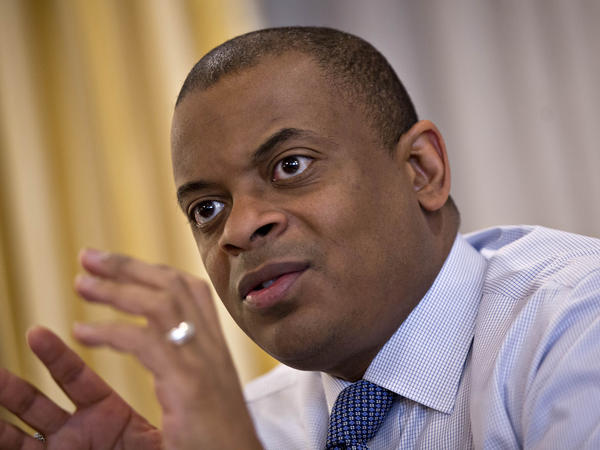"""Transportation Secretary Anthony Foxx says when the U.S. highway system was constructed decades ago it carved up sections of some neighborhoods. Now, he says, """"we can do something about it."""""""