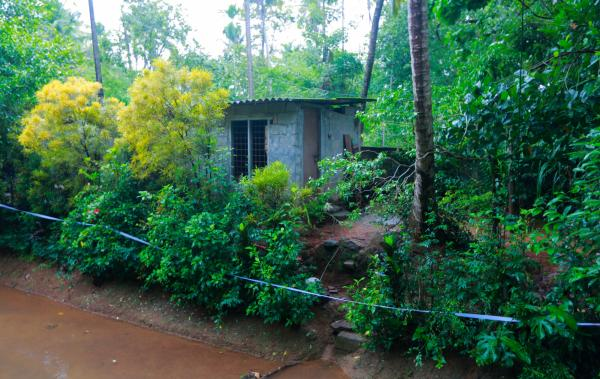 This is the one-room home where Jisha's body was found on April 28.