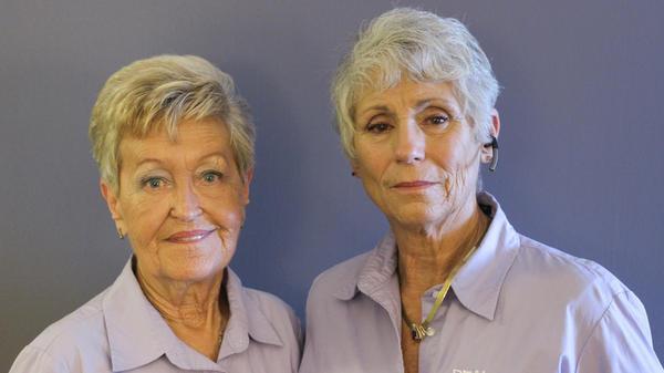 Sandi Talbott and Idella Hansen, on their recent visit with StoryCorps.