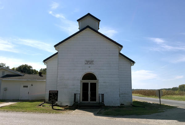 The Wayman Chapel A.M.E. Church in Lyles Station.