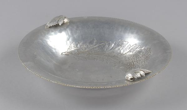 A communion dish used by the Wayman Chapel A.M.E. Church in Lyles Station.
