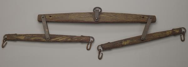 A doubletree harness owned by the Lyles family.