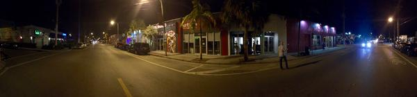 Wynwood Diner manager Donald Goldberg walked to the middle of NW 2nd Ave and 24th St at 9:30 p.m. on Friday, Aug. 5, one week after the neighborhood became the first designated Zika zone. Zika halted what would have normally been a bustling Friday night.