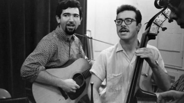 Hart Valley Drifters included a very young Jerry Garcia (left) and future Grateful Dead lyricist Robert Hunter (right). The new album, <em>Folk Time</em>, comes out Nov. 11.
