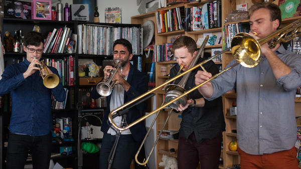 Tiny Desk Concert with The Westerlies.
