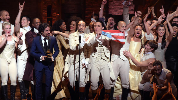 <em>The Hamilton Mixtape</em>, out Dec. 2, features covers and remixes of songs from the Grammy-winning musical.