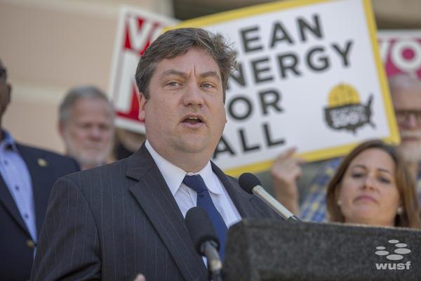 Tom Kimbis, president of the Solar Energy Industries Association.