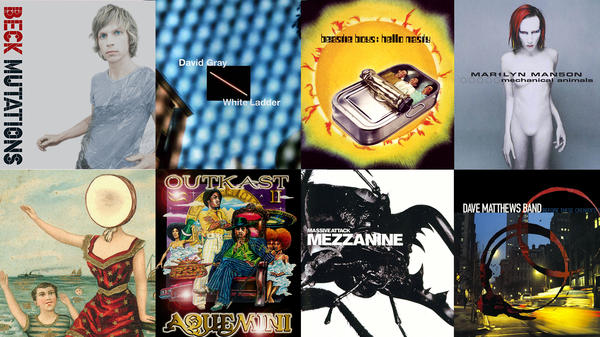 All of these albums came out in 1998, which means that this year they're 18 — and of voting age in the U.S.