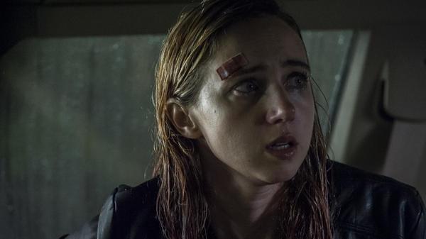 Zoe Kazan stars in <em>The Monster,</em> a horror movie written and directed by Bryan Bertino<em>.</em>
