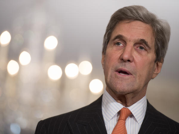 Secretary of State John Kerry is making an Election Day visit to Antarctica.