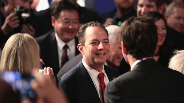 RNC Chairman Reince Priebus after the presidential debate at Hofstra University in September.
